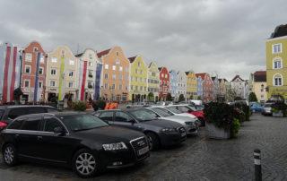 Schöne, gepflegte Häuser kennzeichnen die barocke Innenstadt