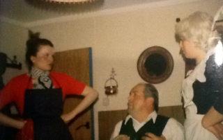 1977 Ois beim Deifi